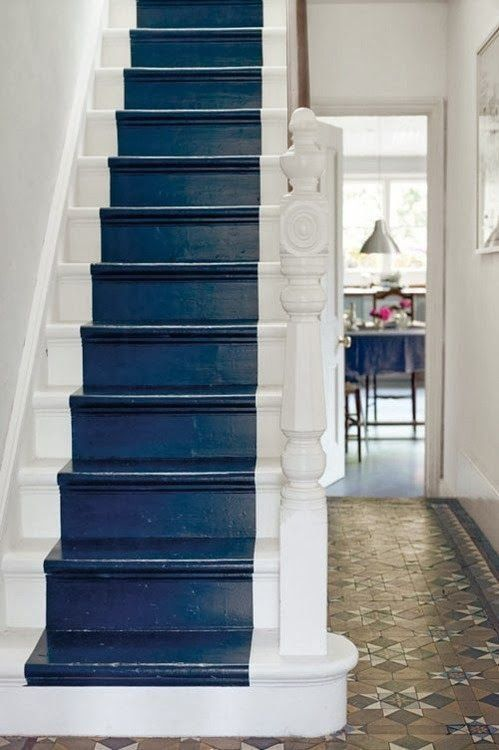 17 beste afbeeldingen over trap op pinterest lopers zwarte trap en scandinavisch huis - Huis trap ...