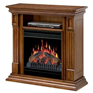 Dimplex Deerhurst Burnished Walnut Electric Fireplace Media Console - DFP20-1268BW