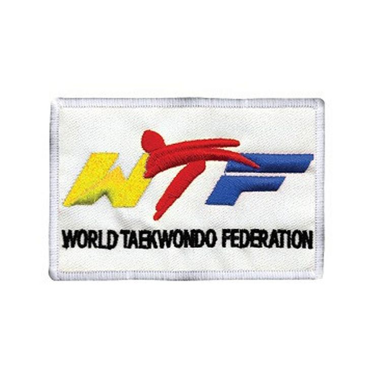 World TaeKwonDo Federation Rectangle PATCH
