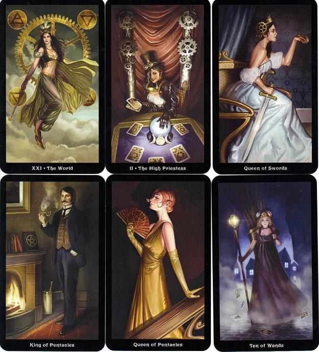The Steampunk Tarot Wisdom from the Gods of the Machine