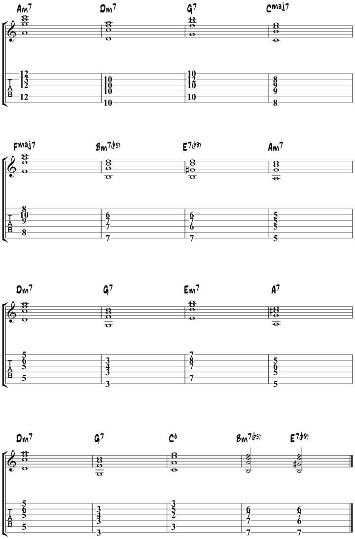 FLY ME TO THE MOON CHORDS Tabs, Audio   Frank Sinatra ...