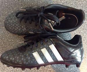 £9.99  Black Adidas Football Boots Size 2 Hardly Worn | eBay