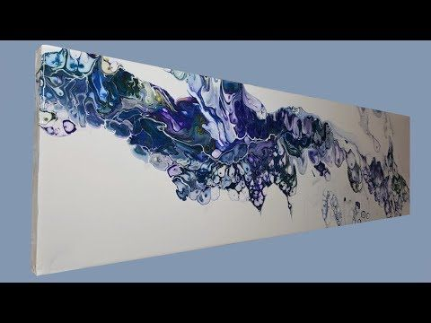 How does Dirty Pouring / Dirty pour with acrylic paints and silicone – YouTube