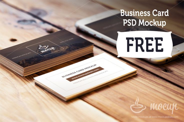 Free Business Card Mockup - Mocup | PSD Mockups, Stock Photos and Videos