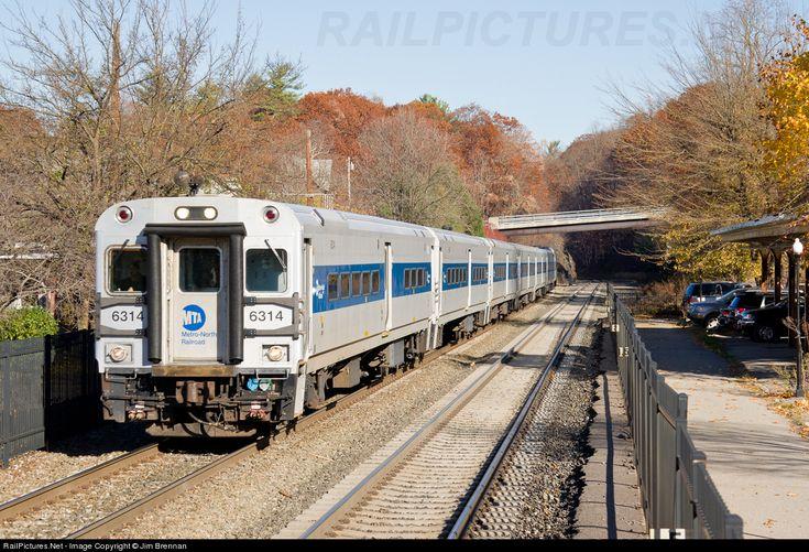 RailPictures.Net Photo: MTA 6314 Metro-North Railroad Shoreliner IV Cabcar at Garrison, New York by Jim Brennan