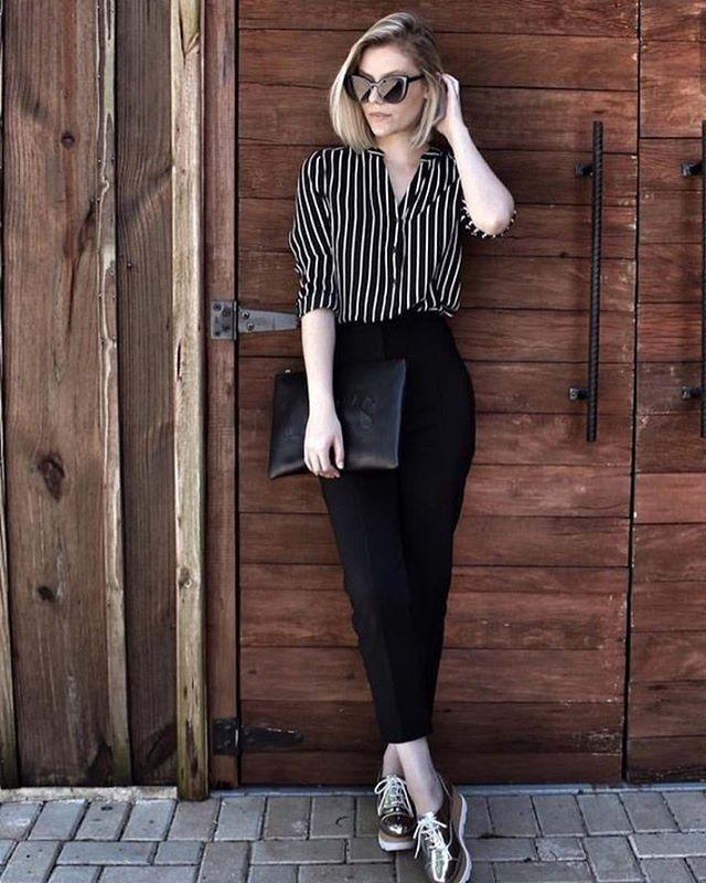 "59 curtidas, 4 comentários - Juliete Cadete (@inspiracaofashion_) no Instagram: ""Um look básico pode ser cheio de estilo !!! #personalstylist #stylistlove #inspiracaofashion…"""