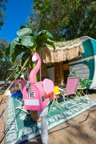 63 Best Campers Amp Rvers With Pink Flamingos Images On