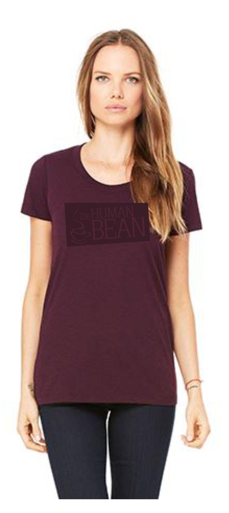 Design your own t shirt europe - Human Bean Logo Ladies Tee