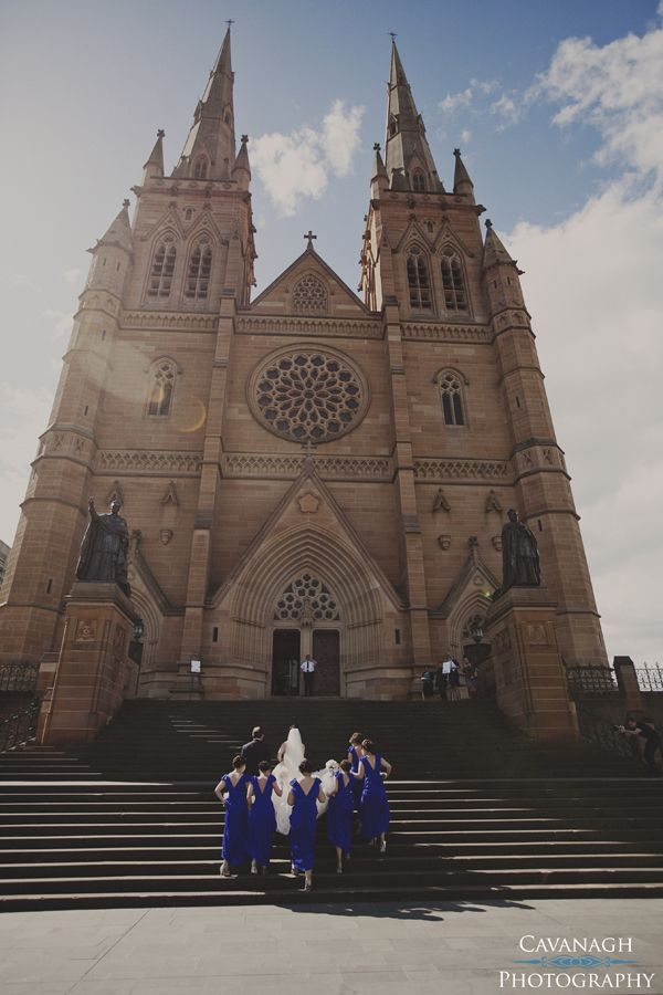 St Mary's Cathedral Sydney wedding ceremony location. Image: Cavanagh Photography http://cavanaghphotography.com.au