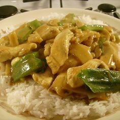 How to make a quick and simple Chinese curry sauce, and use it in a chicken curry recipe, delicious and just as good as those from your local takeaway.