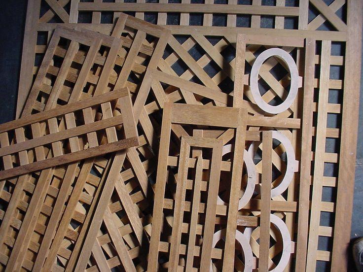wood panel pieces