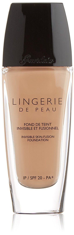 Guerlain Lingerie de Peau Invisible Skin Fusion Foundation, SPF 20 Pa ,  13 Rose Naturel, 1 Ounce * Click image to review more details. (Amazon affiliate link)