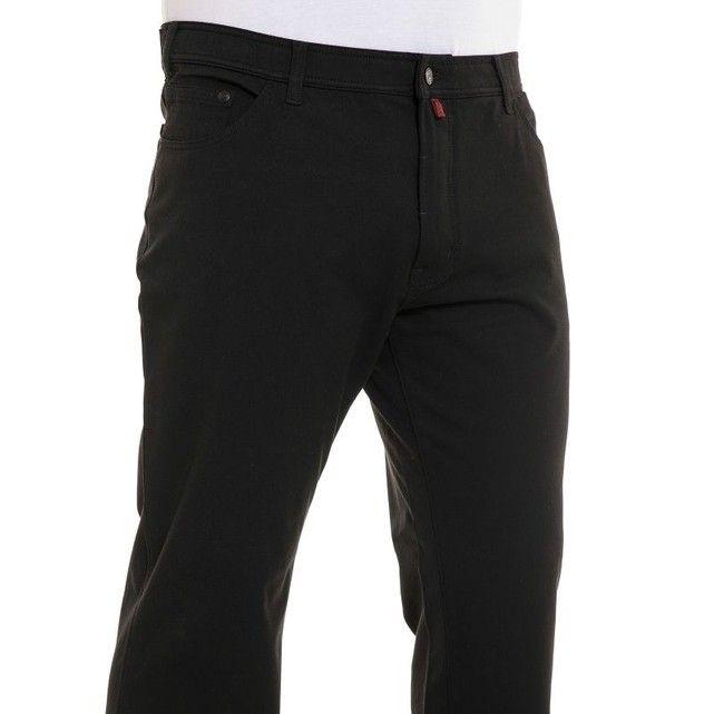 Pantalon stretch noir PIERRE CARDIN