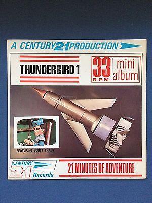 "Century 21 Records - Thunderbird 1 (MA 108 UK 7"" EP 1966) RARE - Gerry Anderson"
