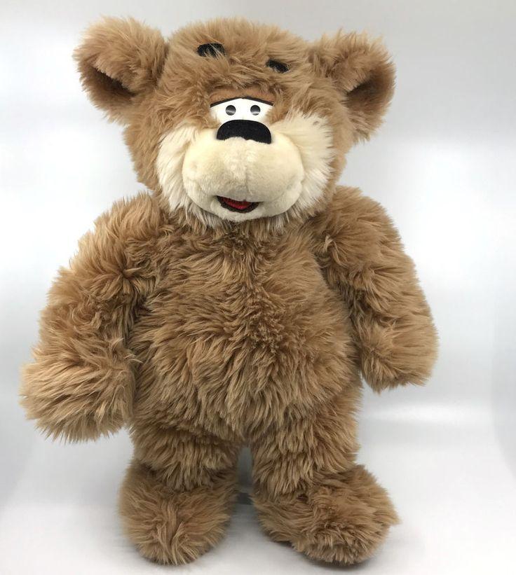 #KennyRogers #Teddy Bear #Bruno 16in Fluffy Plush 1998 Beacon Theater Commonwealth #Commonwealth