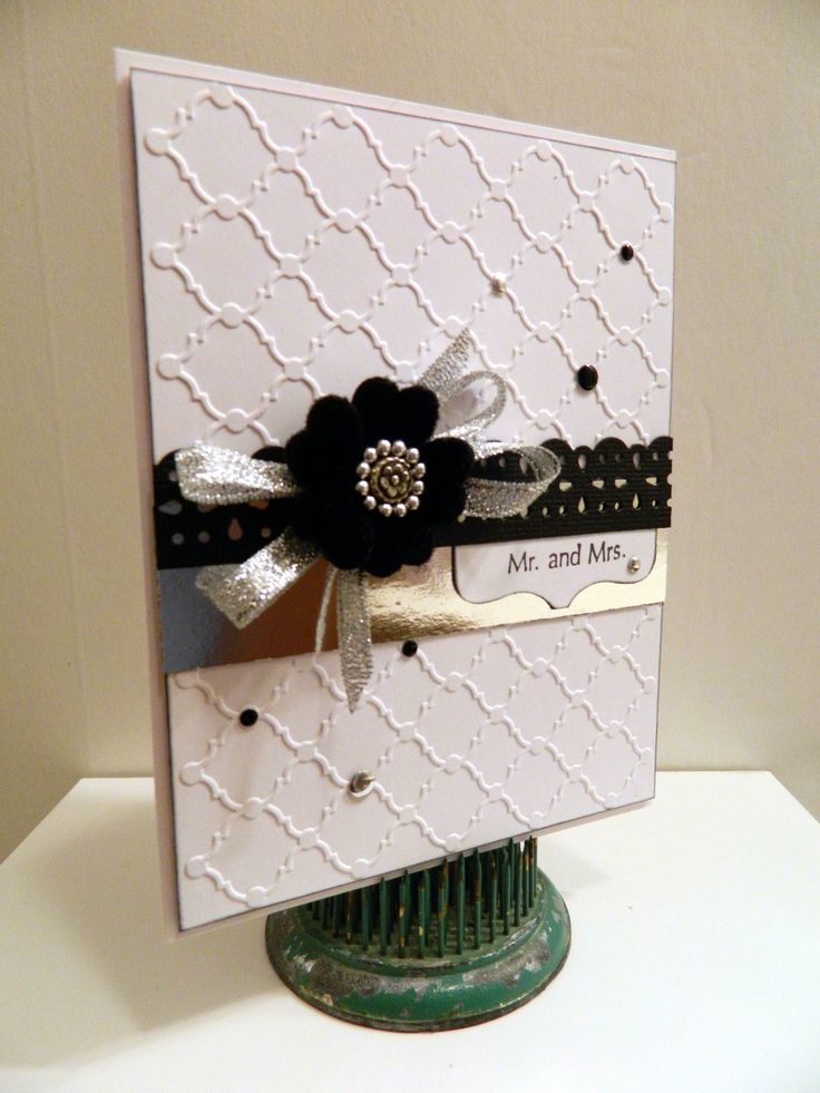 For more info: patitudes.blogspot.com/2013/03/mr-and-mrs-wedding-card.html#
