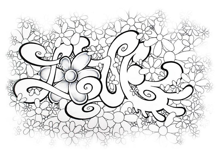graffiti bilder zum ausmalen  ausmalbilder eurer