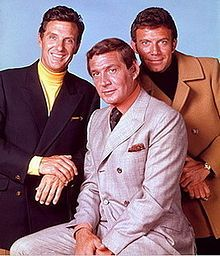 Anthony Franciosa With Robert Stack and Gene Barry in The Name of the Game (1968)