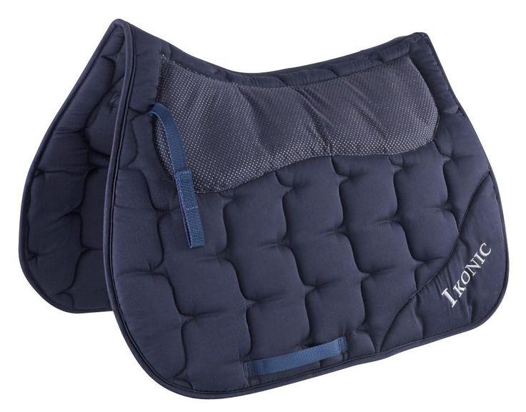 IKONIC saddle pad with shock absorber  Czaprak IKONIC z padem absorbującym wstrząsy