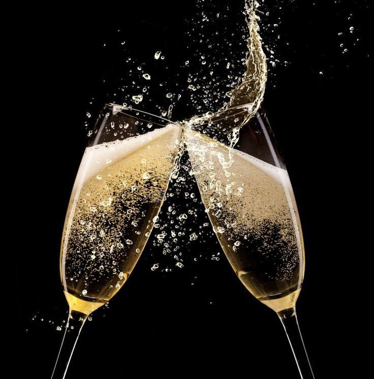 Открытки брызги шампанского