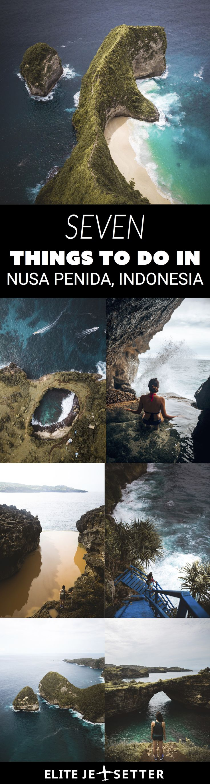 Things to do in Nusa Penida, things to see in Indonesia, bali bucketlist, travel to Bali, Bali things to see, incredible natural wonders, the Trex island and much more! via @elitejetsetters