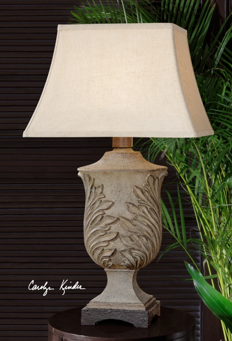 love this Uttermost lamp