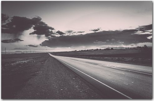 Long long road | Road to nowhere photography collection | George Fivaz Fine Art Photography Gallery