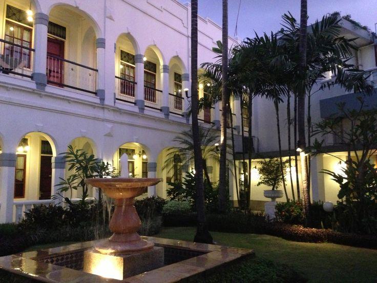 Old hotel with great history.. Majapahit Hotel, Surabaya