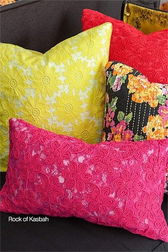 EziBuy | Trelise Cooper Rock of Kasbah Cushion [pink]