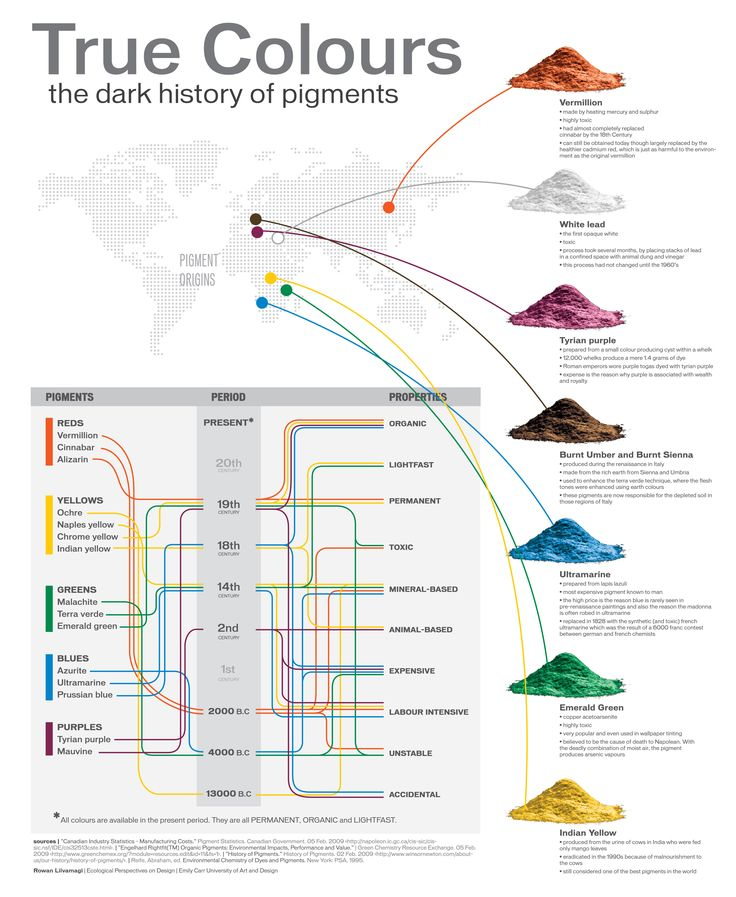 HISTORY OF PIGMENT