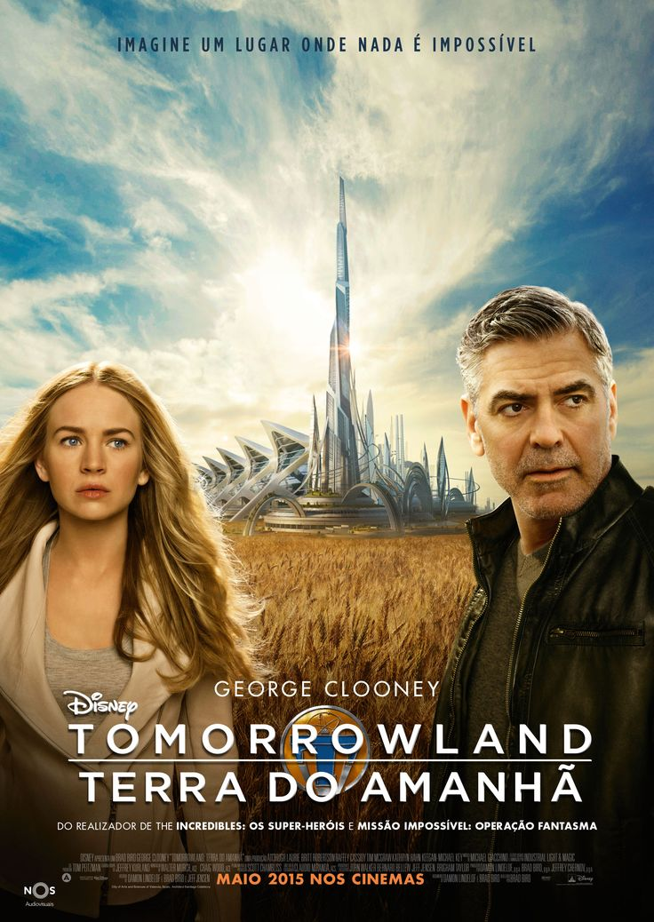Movies Unique Poster Teenage Movie Brad Bird Terra Hugh Laurie Romance George Clooney Hd Streaming