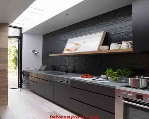 awesome Siyah Mutfak Tasarımları 2015