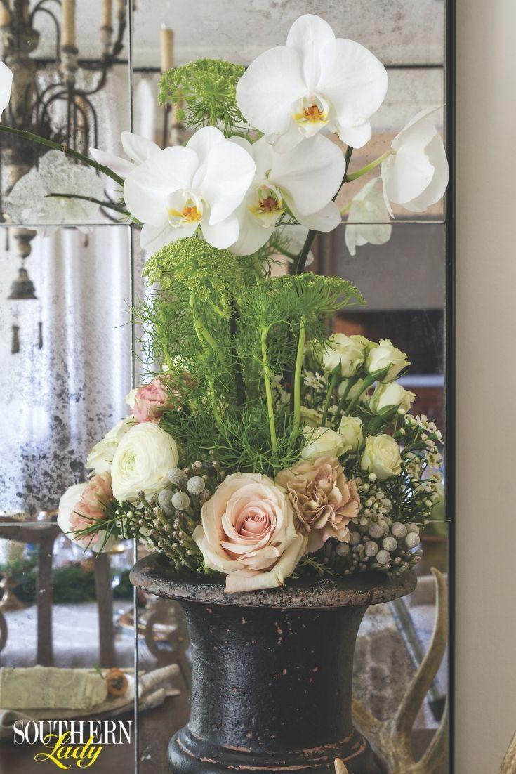 January February 2019 Southern Lady Magazine Beautiful Flower Arrangements Floral Arrangements Flower Arrangements