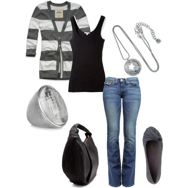 Casual: Shoes, Simple Outfit, Fashion, Style, Dream Closet, Clothes, Clothing, Gray, Wear