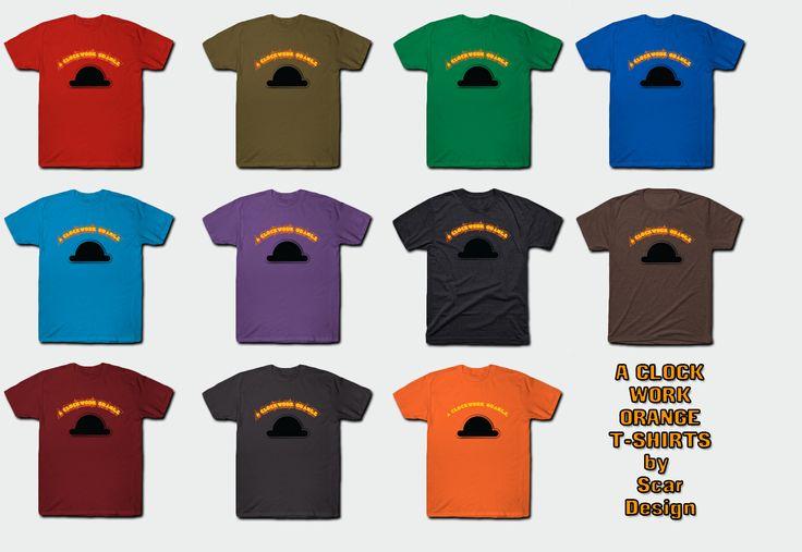 Clockwork Orange T- Shirt by Scar Design $14 #aclockworkorange #clockworkorange #movie #tshirt #kubrick #gifts #cinema #film #movies #sales #save #discount #cult #cultmovie