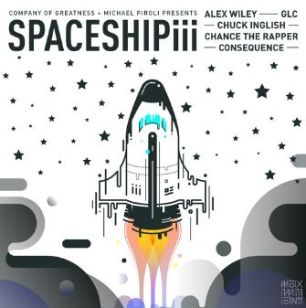 Consequence ft. Alex Wiley Chance The Rapper GLC x Chuck Inglish  Spaceship III