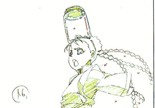 Fullmetal Alchemist: Brotherhood - Pencil Tests