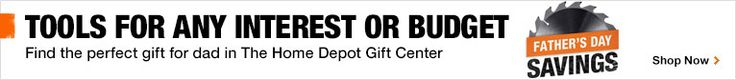 Tools for any interest or budget - Shop The Home Depot Gift Center