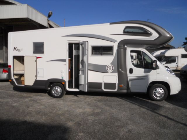 Elangh King 57 del 2015 - camper usato in vendita euro 49.200