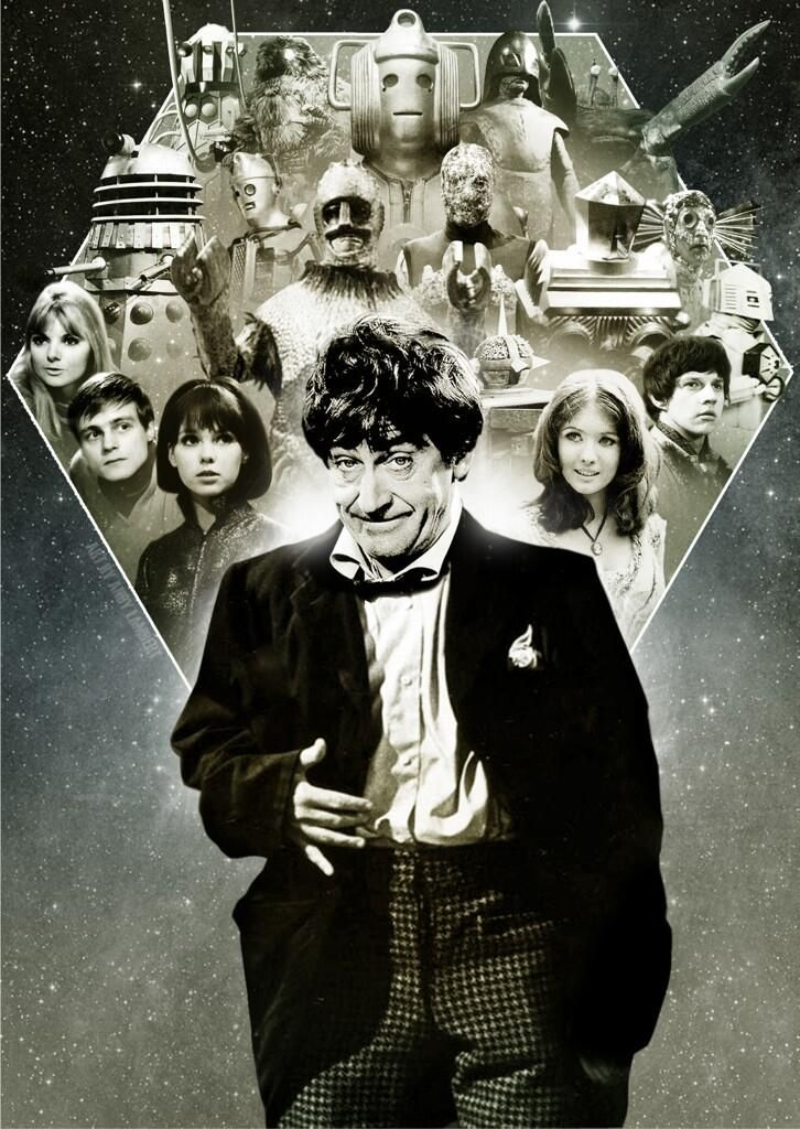 Doctor Who 2nd Doctor Patrick Troughton