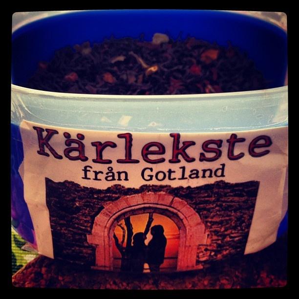 Love tea from Gotland.