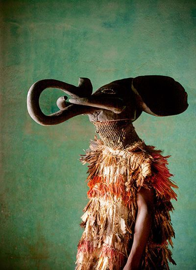 Tribal dancer, Bafut, Cameroon Photograph Philip Lee Harvey, TPOTY