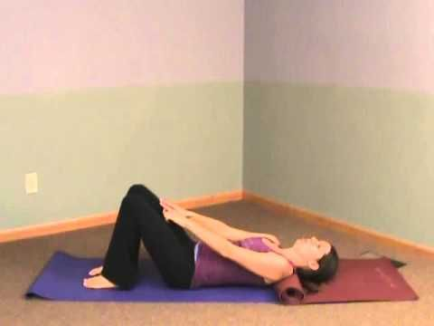 Transverse Abdominal Exercises on the Floor with Christina Mroz.  These will help you to get a flatter belly. www.completemotions.com/blog