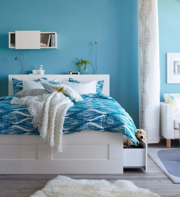 45 Ikea Bedrooms That Turn This Into Your Favorite Room Of The House