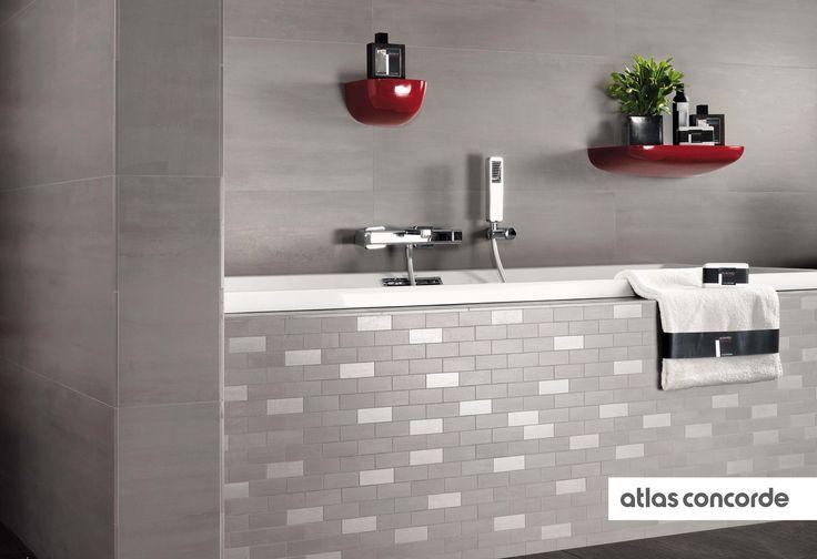 Ceramic Mosaic Wall Decoration. #AtlasConcorde #WallDesign #InteriorDesign #CeramicTiles #HomeDecoration