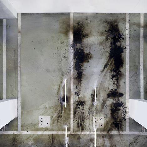 Untlitled (Basement Garage III), 2011, 110 x 110 cm