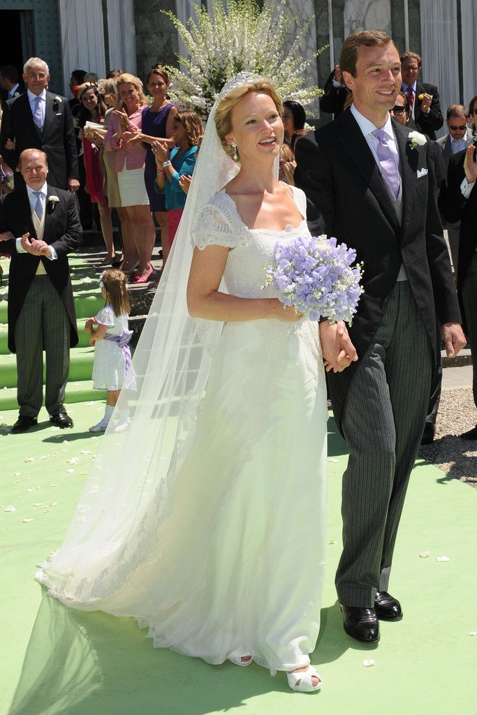 The Royal Order of Sartorial Splendor: Princess Carolina of Bourbon-Parma, daughter of Princess Irene of the Netherlands, daughter of Queen Juliana of the Netherlands and Prince Bernhard of Lippe-Biesterfeld. Irene is sister to Queen Beatrix and aunt to the new King Wilhelm.
