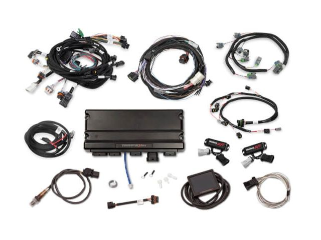 Holley Efi Terminator X Max Mpfi Kit W Ev6 Injector Harness Transmission Control Ford 2v Mod 4r70w 550 1317 Holley Efi Engine Control Unit Holley