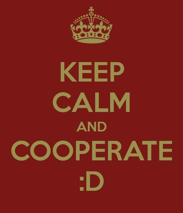 Keep Calm and Cooperate :) #ESF #ERDF