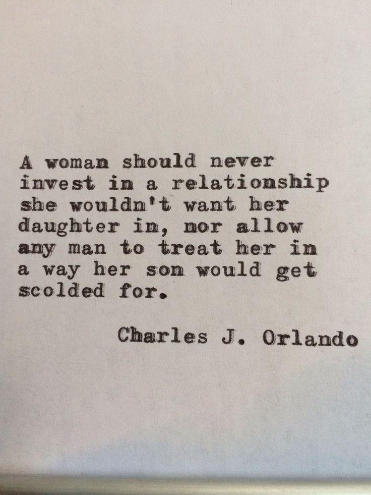 what is a good woman relationship